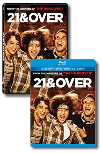 21 & Over on DVD Blu-ray today