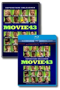 Movie 43 on DVD Blu-ray today