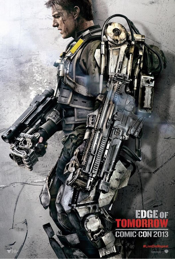 Edge of Tomorrow Comic Con Poster #2