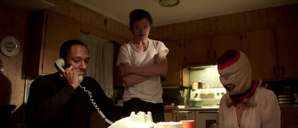 Mos Def, John Hawkes and Jennifer Aniston in Life of Crime