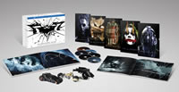 The Dark Knight Trilogy: Ultimate Collector's Edition on DVD Blu-ray today