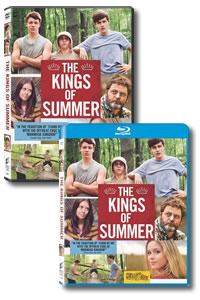 The Kings of Summer on DVD Blu-ray today