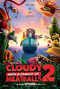 Cloudy with a Chance of Meatballs 2 box office results