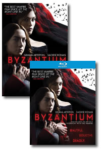 Byzantium on DVD Blu-ray today