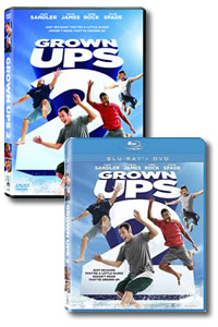 Grown Ups 2 on DVD Blu-ray today