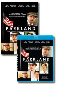 Parkland on DVD Blu-ray today