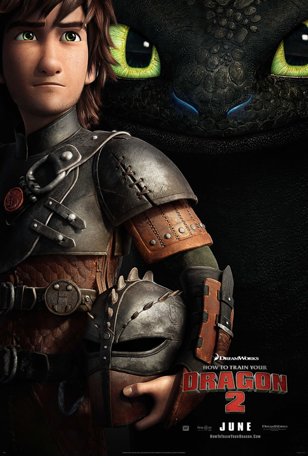 First 'How to Train Your Dragon 2' Poster - ComingSoon.net