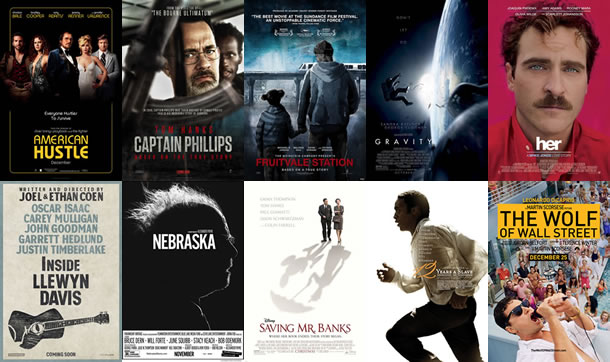 AFI Best Movies of 2013