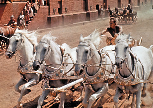 Charlton Heston in Ben-Hur