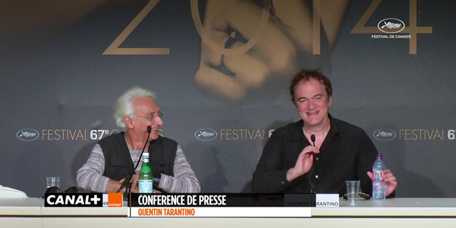 Quentin Tarantino Cannes Press Conference