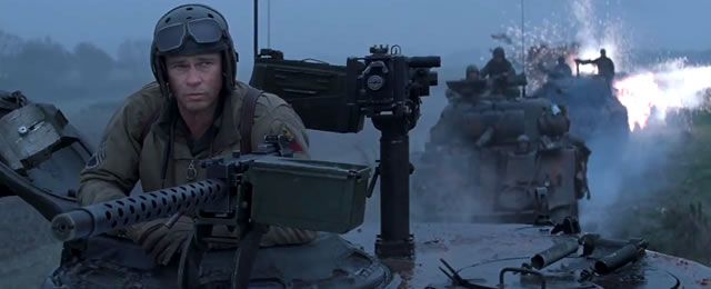 Watch An ActionPacked New Trailer For Fury Starring Brad Pitt - New official trailer fury starring brad pitt