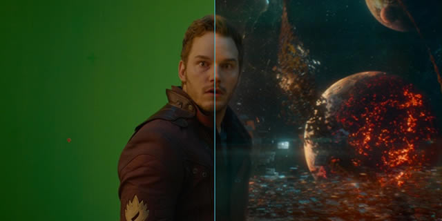 Guardians of the Galaxy visual effects reel