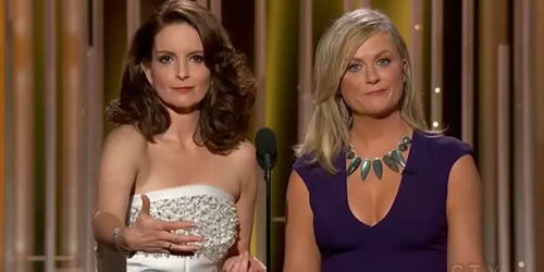 Tina Fey and Amy Poehler's Full 2015 Golden Globes Opening Monologue