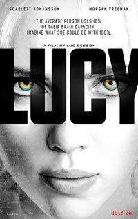 Lucy on DVD Blu-ray today