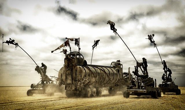 Mad Max: Fury Road stunts