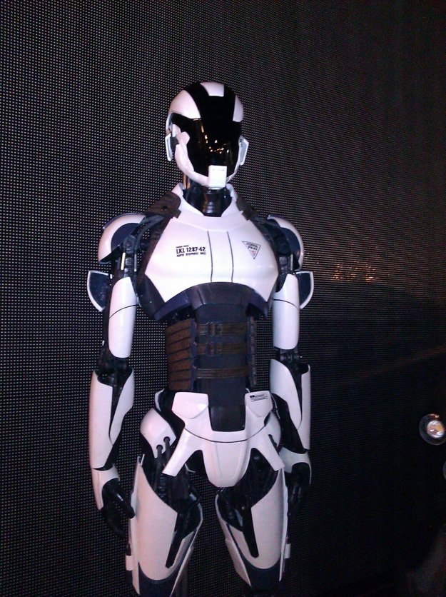 SDCC: Total Recall Reveals Its Futuristic Police Force ... Futuristic Police Officer