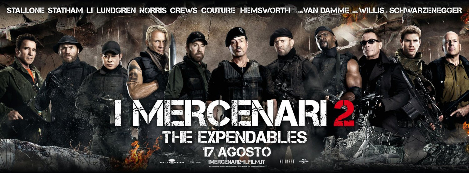 the expendables 2 officially rated r - comingsoon