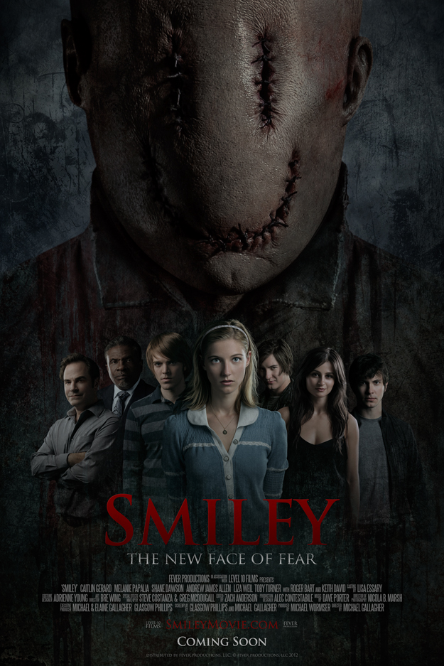 Check Out the Poster for the Horror Thriller Smiley ...