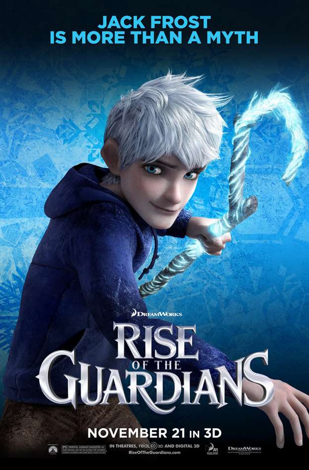 New Character Posters for Rise of the Guardians - ComingSoon.net