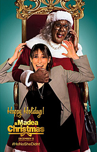CS Video: Tyler Perry and the Cast of A Madea Christmas
