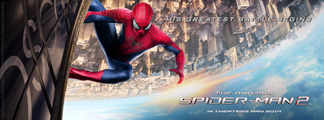 Two Motion Posters for The Amazing Spider-Man 2 Debut