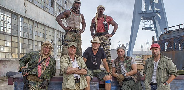 The Expendables 3 Set ...