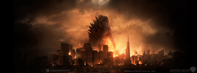 IMAX Poster, International Trailers for Godzilla Revealed