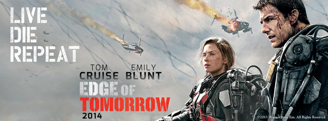 Tom Cruise is Ready for War in A New Edge of Tomorrow Banner