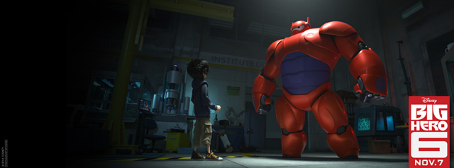Meet Baymax in Two New Posters for Big Hero 6