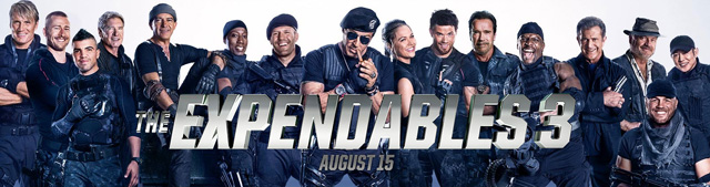 New TV Spot for The Expendables 3 Debuts
