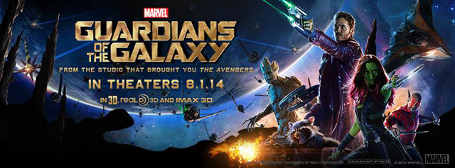 Nine New Images from Guardians of the Galaxy Debut