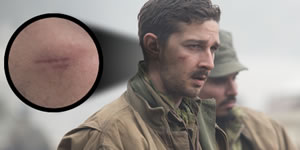 Shia labeouf pulled a tooth and cut his face for fury comingsoon