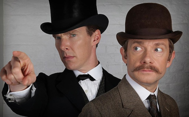 The first official promo image from the BBC's Sherlock Christmas Special is here