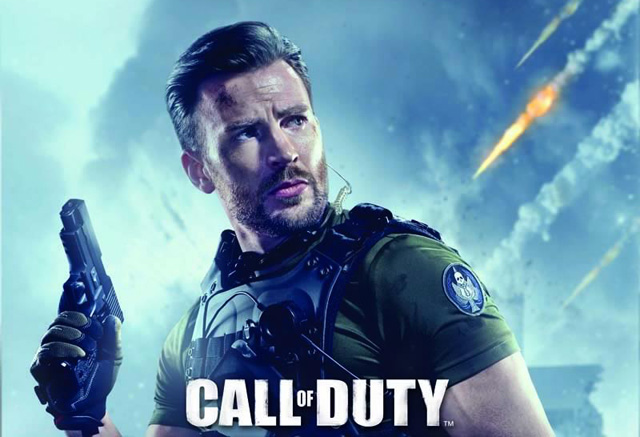 call of duty online chris evans trailer