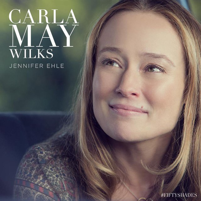 Jennifer Ehle as Carla May Wilks in Fifty Shades of Grey