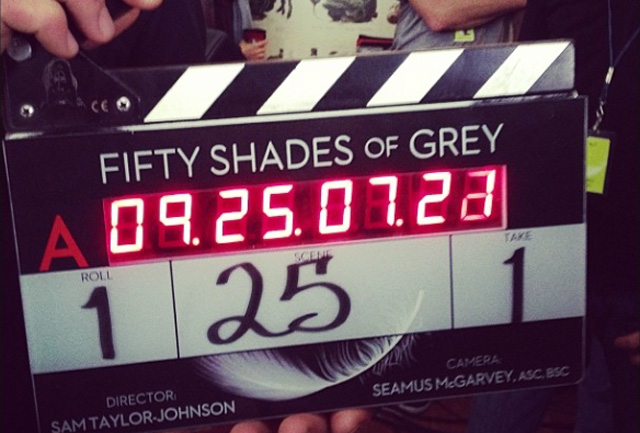 Filming of Fifty Shades of Grey in Vancouver