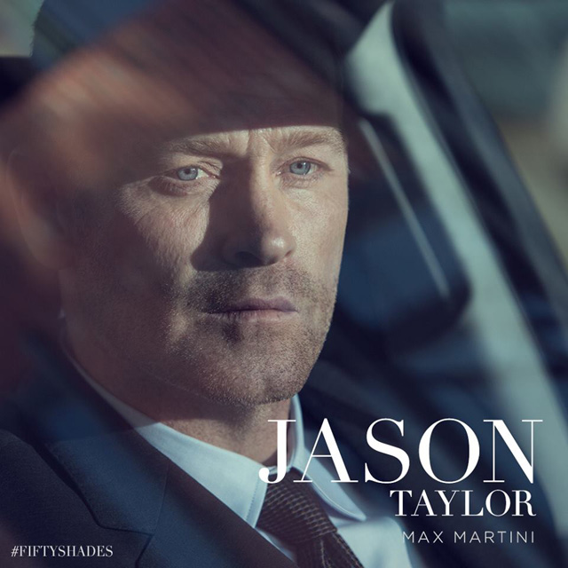 Max Martini as Jason Taylor in Fifty Shades of Grey