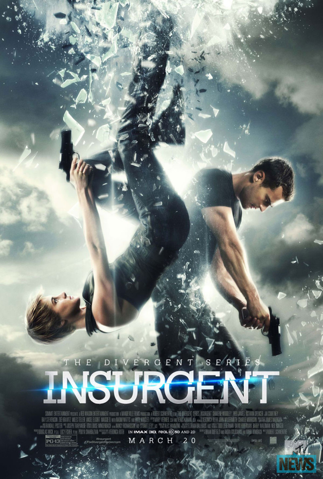 Final poster for The Divergent Series: Insurgent.