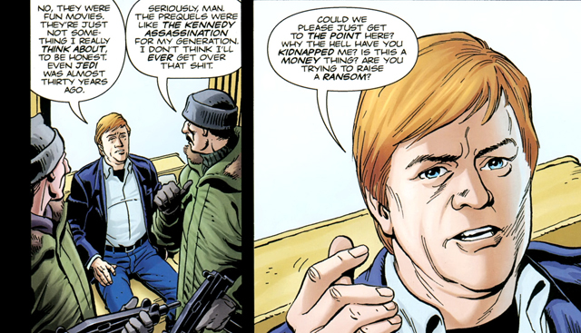 Mark Hamill Kingsman: The Secret Service