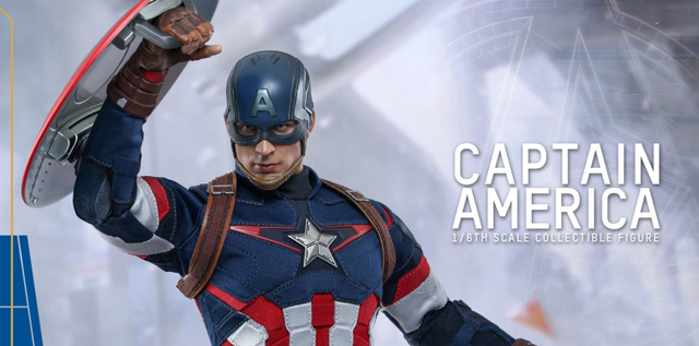 Hot Toys Reveals Captain America Figure for Avengers: Age of Ultron