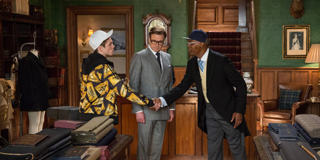 Exclusive clip from Kingsman: The Secret Service.