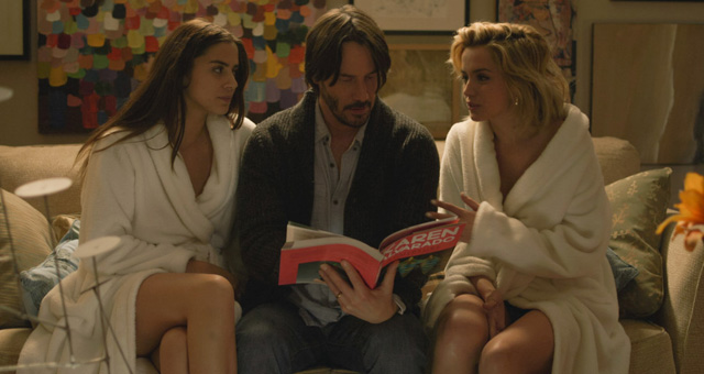 The teaser trailer for Eli Roth's Knock Knock, starring Keanu Reeves.