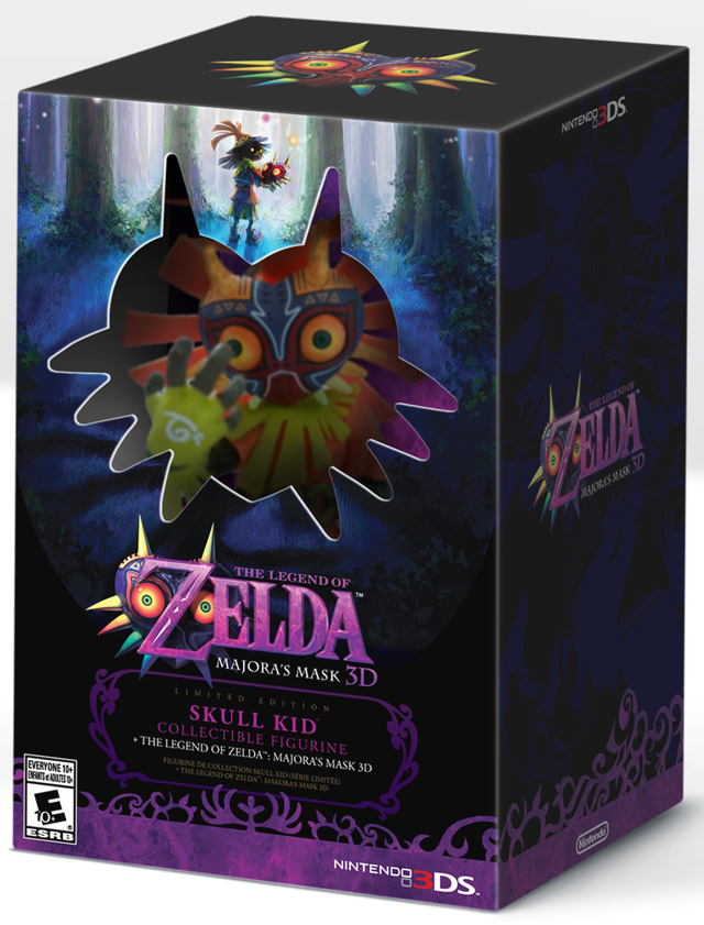 The Legend of Zelda: Majora's Mask limited edition figurine