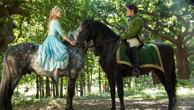 Lily James and Richard Madden take lead roles in upcoming Cinderella movie to be released on March 13.