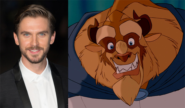 Dan stevens to star opposite emma watson in beauty and the