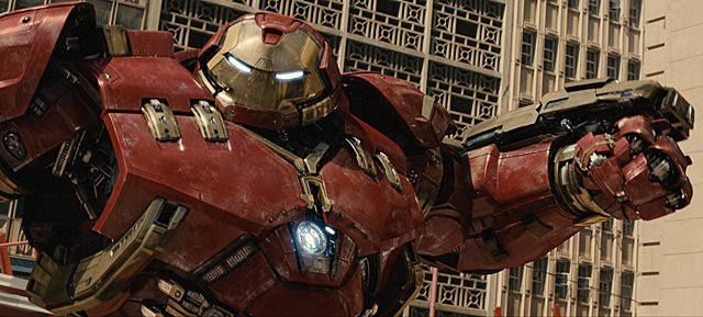 Avengers: Age of Ultron footage