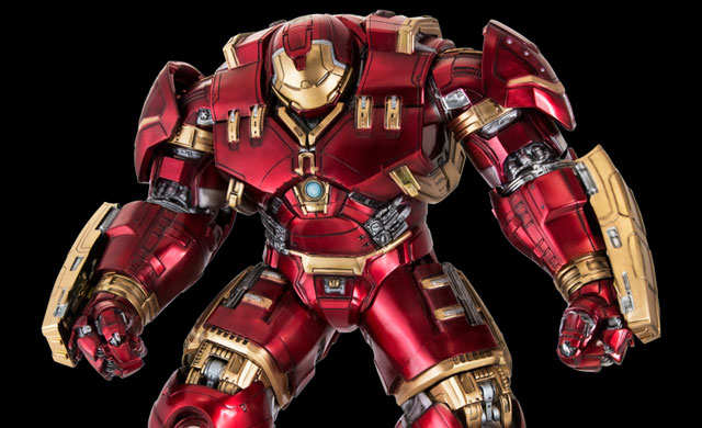 """Dragon Model's Action Hero Vignettes stand almost 16"""" tall, presenting in 1:9 scale all the detail of the Avengers: Age of Ultron characters as seen in the movie!"""