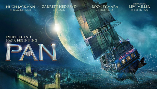 The new Pan Trailer has arrived, offering a look at the October 9 release.