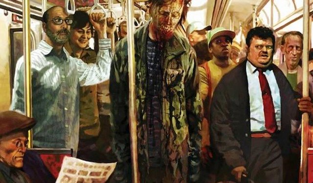 George Romero's comic book continuation of his living dead franchise, Empire of the Dead, is heading to television.