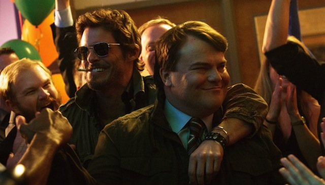 Jack Black and James Marsden star in The D Train, hitting theaters May 8.